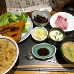 """魚魚や 鯛一 - """"たいかず定食"""" ¥1,000"""
