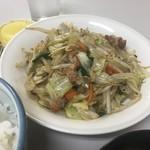味の枝 - 野菜炒めアップ