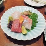 つむら - 料理写真:刺身盛り(一人前)