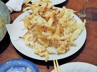 つむら - スルメの天ぷら