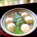 魚丸湯(ユーワンタン〔魚団子スープ〕)