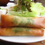 kitchen soya - 春巻きUP