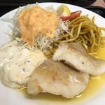 ランチハウス ミトヤ - 白身魚のバター焼き('17/09/18)