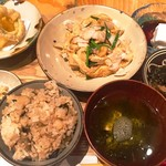 うりずん - フーチャンプルー定食