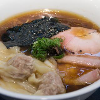 Japanese Soba Noodles 蔦 - 料理写真:ワンタン醤油soba(1,200円)
