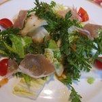 7330637 - 白菜と春菊のサラダ スイートチリソース
