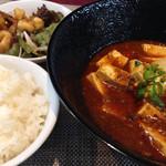 Chuukadainingushinka - 日替りランチセット[麻婆豆腐]