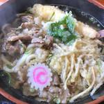 鳴門うどん - 天ぷら肉うどん(肉3倍)¥980