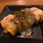 ミニブタ店長のTABOO - 出汁巻き玉子明太チーズ