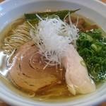 喜元門 - 名古屋コーチン塩 ラーメン 750円