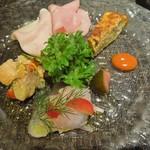 セラフィーノ - 料理写真:前菜盛り合わせ