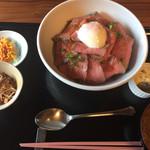 二代目 鉄心堂 - ローストビーフ丼大盛り