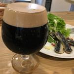 さかづき Brewing - 霞煙スタウト(540円)