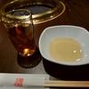 天壇  - 料理写真:黄金色のタレを注いでセッティング