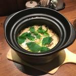 和 ふぉーた 旬菜旬魚と土鍋飯 - 鯛と三つ葉の土鍋飯