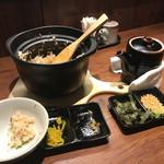 和 ふぉーた 旬菜旬魚と土鍋飯 - 土鍋飯セット