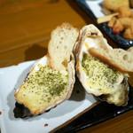かき左右衛門 - 牡蠣オーブン焼き ロックフェラー風 ¥740