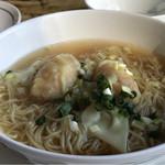ヘイフンテラス - 海老ワンタン入り香港拉麵
