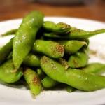 枝豆の四川山椒風味