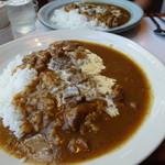 がるそん - 料理写真:ツインビーフカレー