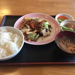 萬壽園 - 回鍋肉定食