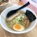 麺匠たけいち - 料理写真:鯛だし(塩)