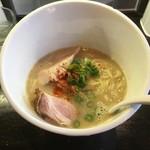 麺屋 號tetu - 濃厚鶏SOBA塩780円