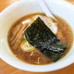 らぁ麺むらまさ - 「醤油らぁ麺」(630円)。