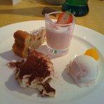 イタリア料理 リストランテ フィッシュボーン - デザート盛り合わせ