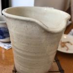 73310815 - 蕎麦湯もたっぷり とろーり濃度高い!(^O^)