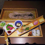 三間堂 - 【ランチ】 板蕎麦御膳 \1100
