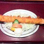 海老どて食堂 - 特大海老ふりゃ~定食の日本一大きい35cmの海老フライ