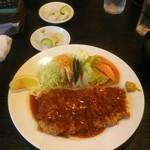 もりもと - 料理写真:若鶏のカツレツミラノ風