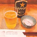 鮨屋時蔵 - まずはビール