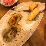 鮨屋時蔵 - 穴子&たまご