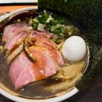 ラーメン凪 - すごい煮干ラーメン(1,200円)