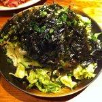 牛鉄 - 韓国のりサラダ