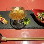 創作Dining Sushi きくち - 料理写真:前菜