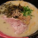 ラーメン 西海 - 高菜ラーメン540円