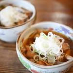 金太郎 - もつ煮¥486×2