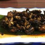 うなぎ割烹山田 - 鰻の肝焼き