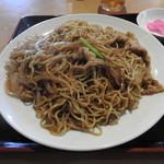 中国料理 紅龍房 - ボリューム満点の後も悔し蕎麦