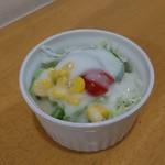 かれーの店 ポカラ - サラダ