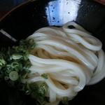 がいな製麺所 - 醤油うどん(冷)
