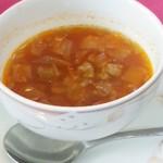 ランチの本日のスープ