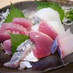 Sengyooshokujidokoroyamashou - 料理写真:お刺身定食DX¥1250
