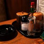 DEN - グラパンにはタバスコを入れてみても美味しいかも。