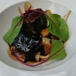 Trattoria L'arche - 道産牛ホホ肉の赤ワイン煮