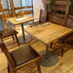 フラッフィー パンケーキ - ☆テーブル席\(^o^)/☆