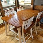 フラッフィー パンケーキ - ☆可愛らしいテーブル席(^◇^)☆